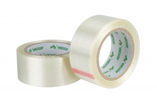 Polyester transparent one way Filament Tape